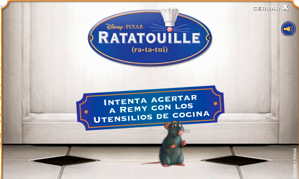 Disney ratatouille rich media eyeblaster campaing