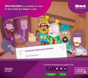 ono felicitación navidad 2010-2011 en Facebook